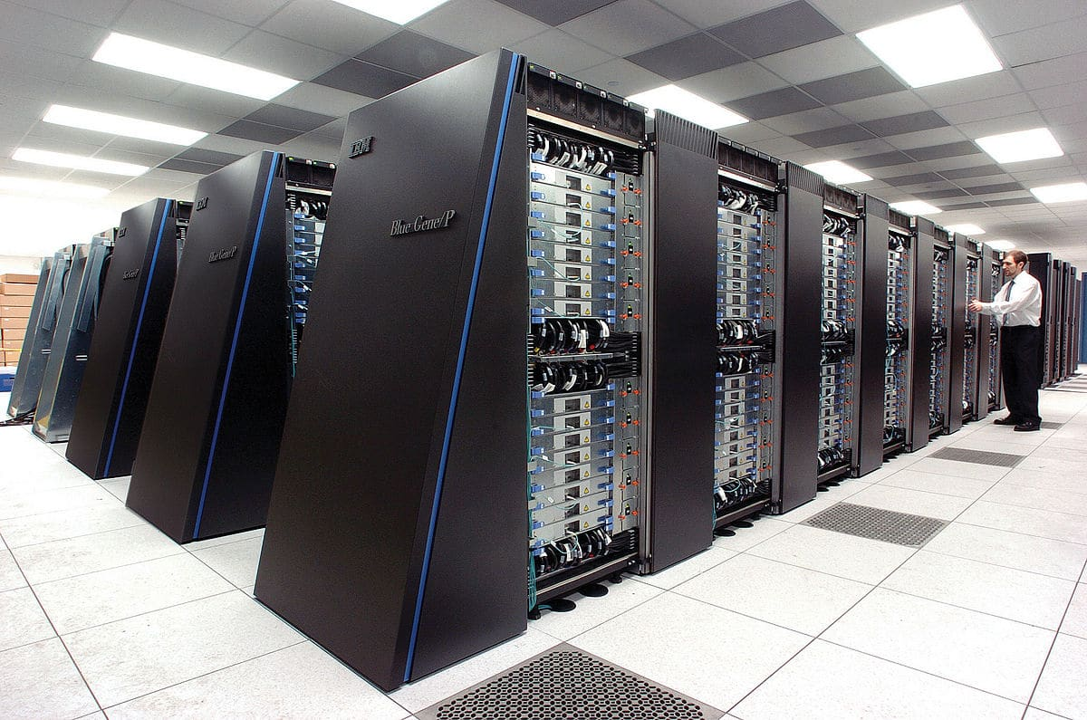IBM's Blue Gene supercomputers