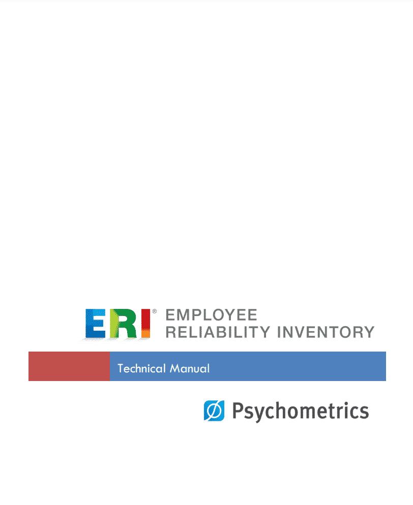 ERI Technical Manual