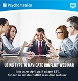 Conflict webinar icon