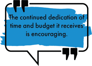continued-dedication-time-budget-encouraging