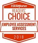 Psychometrics wins HR reporter reader's choice award 2018