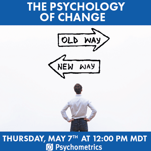 Psychology of Change webinar