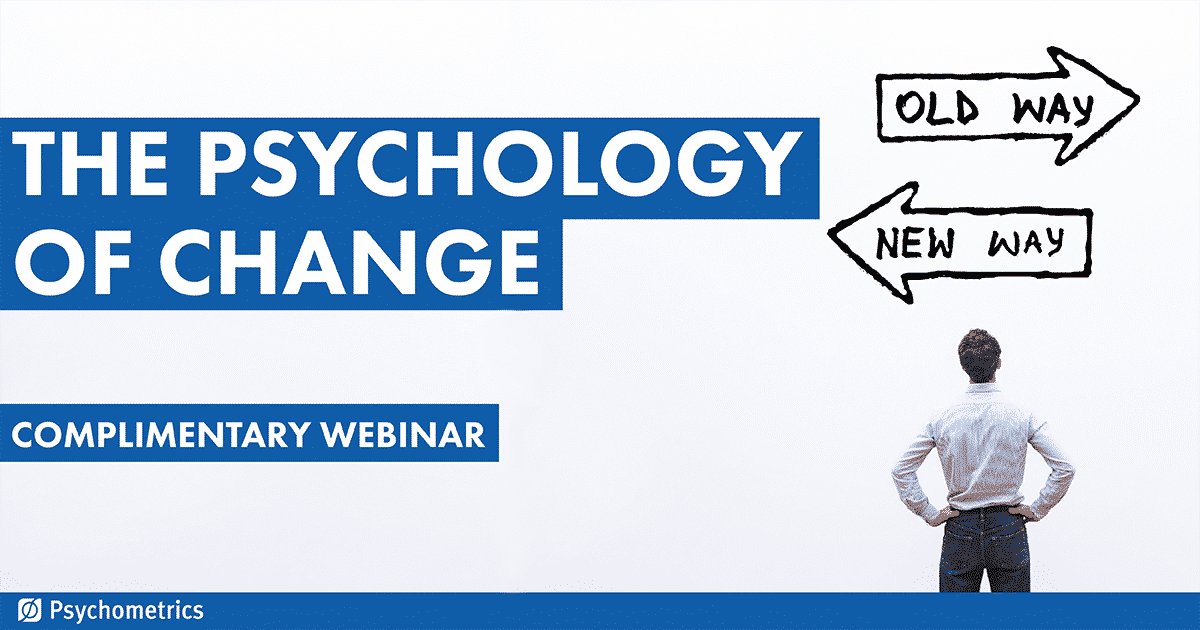 The Psychology of Change Webinar