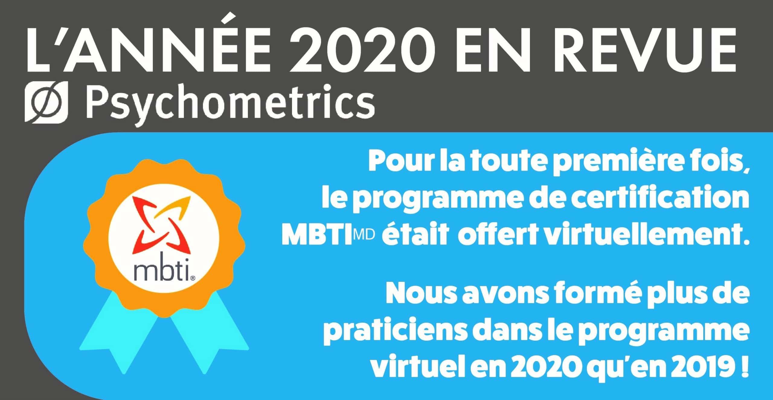 MBTI Certification Virtuelle Program Enligne