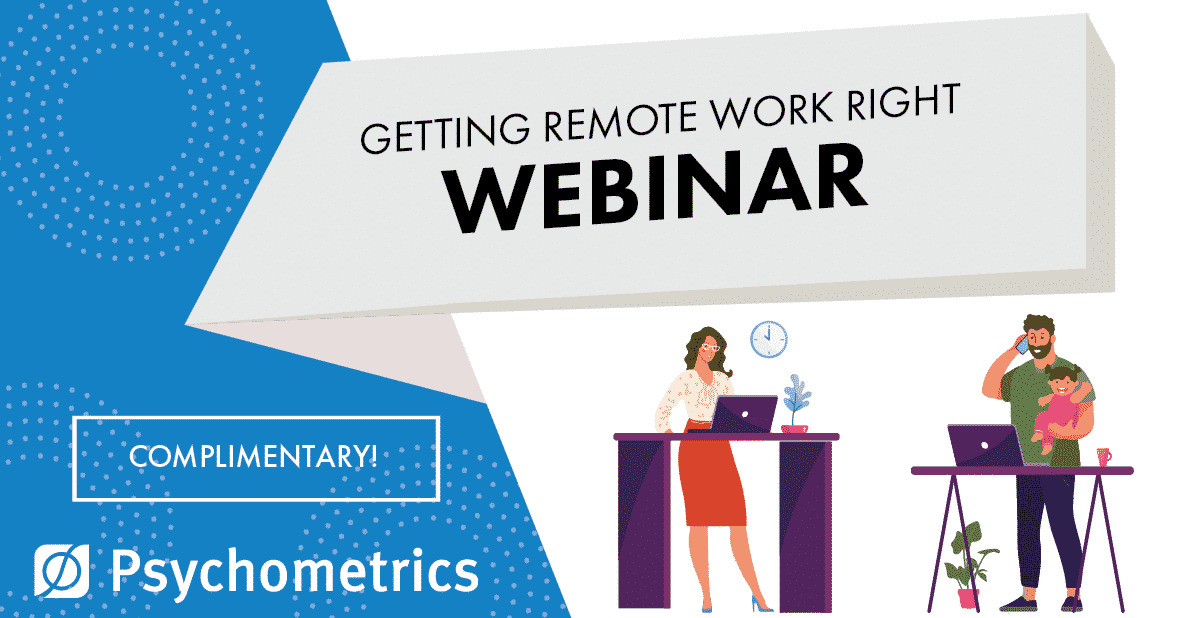 getting remote work right - webinar